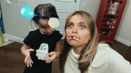 «Вшоке просто!» Анна Хилькевич напугала детей подписчиков жуткими масками