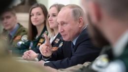 Путин раскритиковал министра науки ивысшего образования из-за бюджетных мест