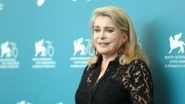 Французская актриса Катрин Денев госпитализирована сподозрением наинсульт
