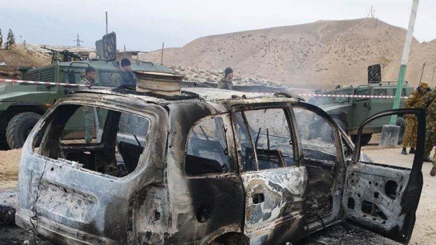 Боевики ИГ* напали назаставу «Ишкобод» вТаджикистане вДень Конституции