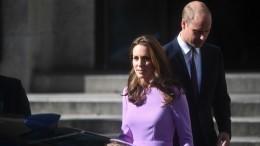 Британцы считают, что Кейт Миддлтон забеременела вчетвертый раз