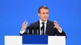 Макрон объявил о«смерти мозга НАТО»