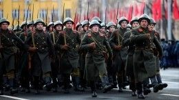 ВСамаре прошла реконструкция парада 1941 года