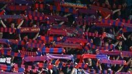 Перед матчем ЦСКА и«Ференцвароша» вВенгрии фанаты затеяли потасовку сполицией