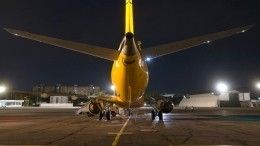 Двигатель самолета загорелся вхабаровском аэропорту