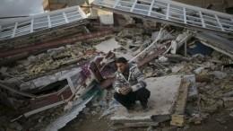 Землетрясение вИране: Пятеро погибших, более 120 раненых