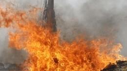 Один изтрех взрывов вцентре Бишкека попал навидео