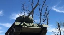 ВПетербурге кПараду Победы наКрасной площади готовят легендарные Т-34