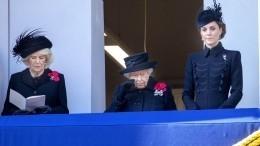 Почему рядом скоролевой наДне памяти павших была Кейт Миддлтон, анеМеган Маркл?