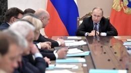 Путин потребовал откабинета министров срочно сделать прививки отгриппа