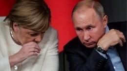 Владимир Путин иАнгела Меркель обсудили потелефону ситуацию наУкраине