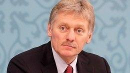 Песков объяснил критику Путина строительства космодрома «Восточный»