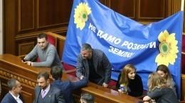 Украинская Рада поддержала скандальный закон опродаже земли