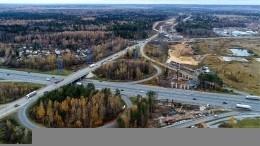 Завершилось строительство скоростной автомагистрали Москва— Санкт-Петербург