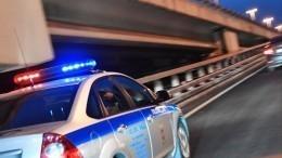 Майор полиции пытался сбежать вовремя задержания при получении взятки вМоскве
