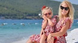 Пелагея рассказала овоспитании двухлетней Таисии: «Она папина дочь»