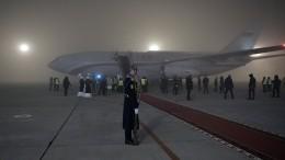 Пилоты рассказали онепростой посадке самолета сПутиным вБишкеке