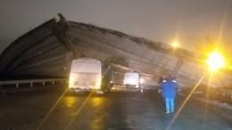 При обрушении моста вОренбурге могли пострадать люди