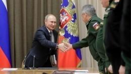 Путин подчеркнул необходимость развития боевой возможности ВМФ