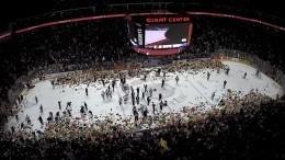 ВСША болельщики хоккейного клуба установили мировой рекорд