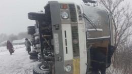 Среди пострадавших вДТП савтобусом вБелгородской области есть ребенок