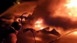 Мини-апокалипсис под Петербургом: почему загорелся огромный склад скаучуком