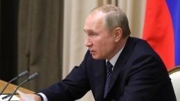 Путин: ВМФ РФвэтому году получит более 480 образцов вооружений