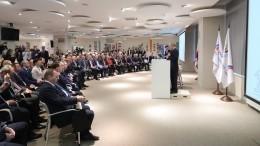 Путин посетил Российский международный олимпийский университет вСочи
