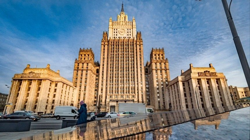 ВМИД РФвысылку российских дипломатов изФРГ назвали недружественным шагом