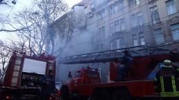 Один человек погиб, 29 пострадали при пожаре вОдесском колледже