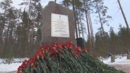 ВКарелии заложили камень воснование мемориальной часовни вчесть Александра Невского