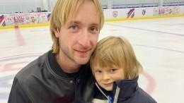 Сын Плющенко готовится превзойти отца-фигуриста висполнении трюков