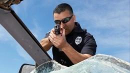 Ужасающее видео смертельной перестрелки ипогони заграбителями воФлориде