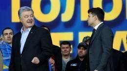 Порошенко советует Зеленскому избегать встреч сПутиным сглазу наглаз вПариже