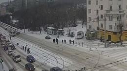Пострадавший вДТП смаршруткой вЧелябинске находится вкоме
