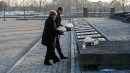 Меркель впервые посетила Освенцим зачетыре срока напосту канцлера ФРГ