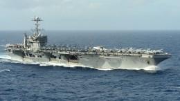 Атомный авианосец ВМС США «Гарри Трумэн» вошел вСредиземное море