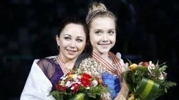 Туктамышева сРадионовой показали танец, посвященный «Холодному сердцу»