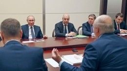 Свет внезапно погас напереговорах Путина иЛукашенко
