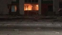 Первые кадры сместа хлопка газа вжилом доме вТюмени