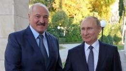 Посол Белоруссии вРФраскрыл детали переговоров Путина иЛукашенко