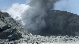 Извержение вулкана вНовой Зеландии: пять человек погибли, более 10 пропали без вести