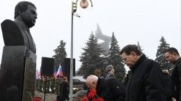 Видео: вДонбассе установили памятный бюст Иосифу Кобзону