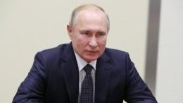 Путин орешении WADA поРоссии: Наказание спортсменов неможет быть коллективным