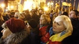 Акция протеста возле офиса президента Украины завершилась
