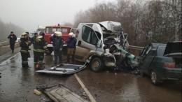Пять человек погибли вДТП сгрузовиком вВоронежской области