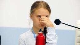 Президент Бразилии назвал экоактивистку Грету Тунберг «соплячкой»