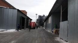 Названа предварительная причина пожара назаводе вЕкатеринбурге