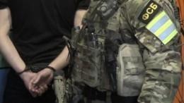 Кадры задержания сторонника «Правого сектора»*, готовившего теракт вМурманске