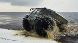 Серийное производство арктических вездеходов «Шерп» начнется вРоссии вянваре